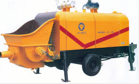 concrete pump trailer