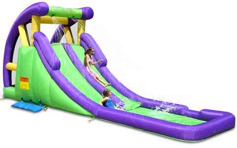 BIS-027-Outdoor-Inflatable-Twin-Water-Slides-for-Sale