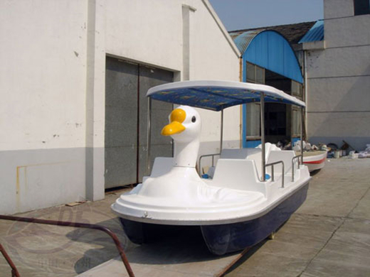 swan theme paddle boats factory
