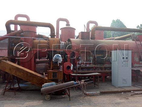 charcoal carbonization stove