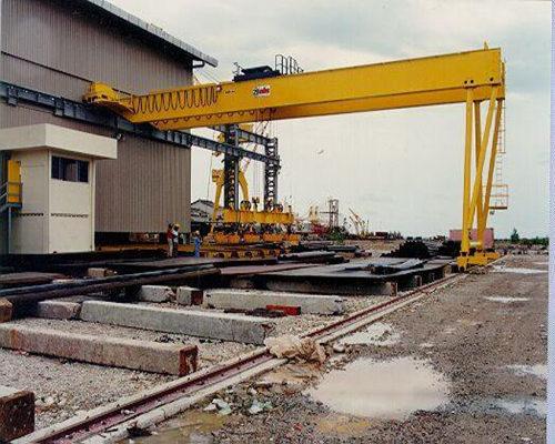 Ellsen best beam semi gantry crane for sale