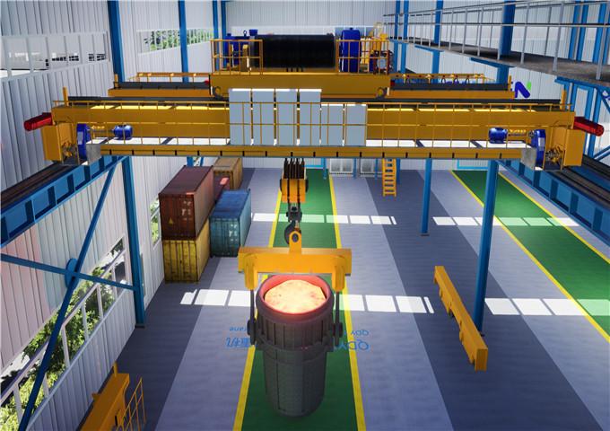 Metallurgical overhead crane price in China