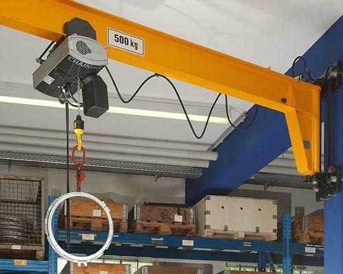 Ellsen well build chain hoist electric fixed on jib crane