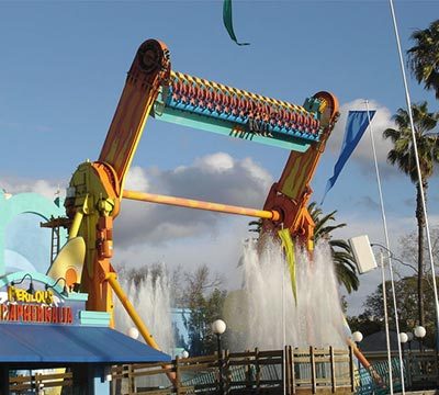 Top Spin Rides for Amusement Park
