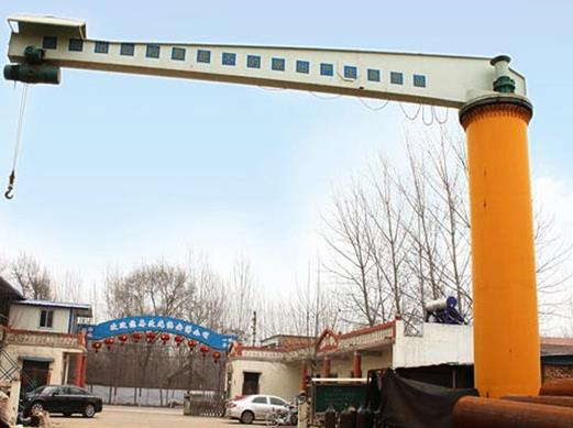 The Basics Of The 10 Ton Weihua Jib Cranes