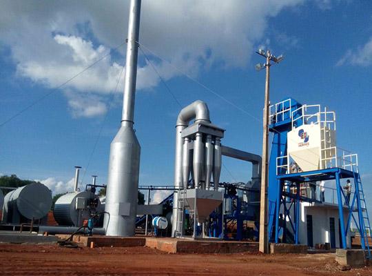 AIMIX DHB Series Continuous Asphalt Mixing Plant