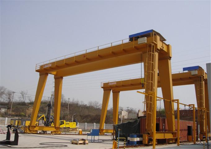 High quality gantry crane double girder 25 tons