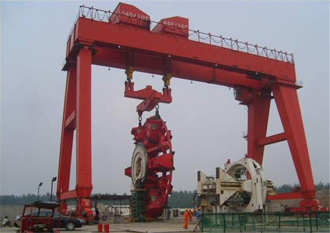 Sale double girder gantry crane at a reliable price