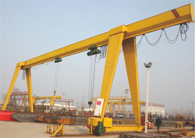 Sold single girder gantry crane price